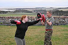 The nearest you'll get to punching the instructors - Click for larger version