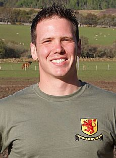 Pete Hawkins, Scottish Boot Camp PTI